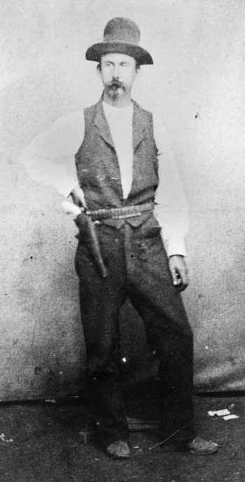 Kristin Holt | Billy Brooks, one-time lawman, turned murderer in Dodge City (1872).