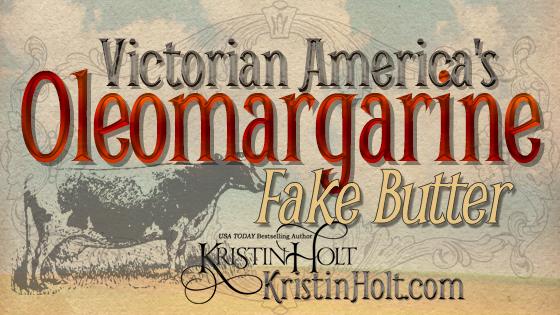 Victorian America's Oleomargarine