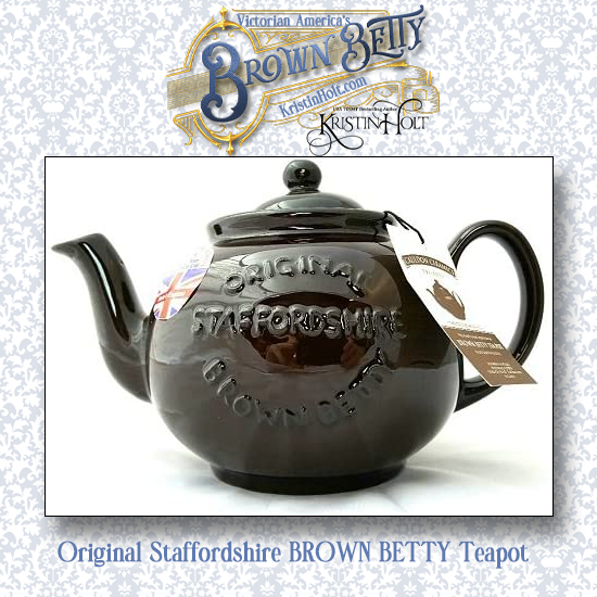 Kristin Holt | Victorian America's Brown Betty. Brown Betty Teapot for sale on Amazon.