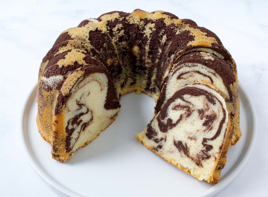 Kristin Holt   Victorian America's Marble Cakes. Photo: Old-Fashioned Marble Bundt Cake, courtesy of Food Network.