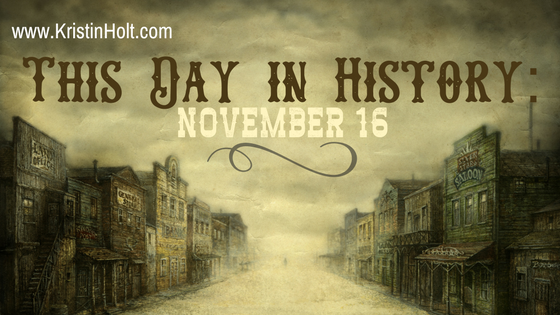 Kristin Holt | This Day in History: November 16