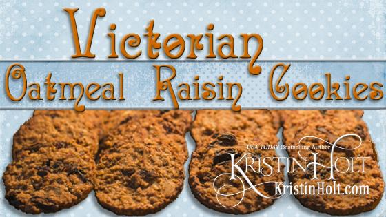 Victorian Oatmeal RAISIN Cookies